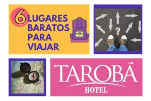 6 lugares baratos para viajar, dicas dos melhores destinos no Brasil 1