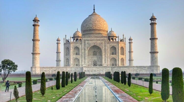 Taj Mahal | Lugares Lindos para Viajar no Brasil e no Mundo