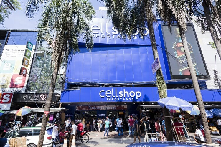 CellShop  fachada | Black Friday Paraguai