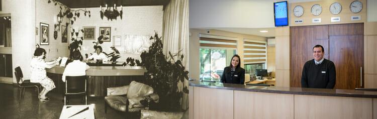 Evolução da Recepção do Hotel Tarobá