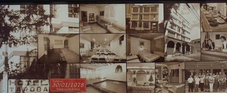 Aéreas comuns do Hotel Tarobá em 1978