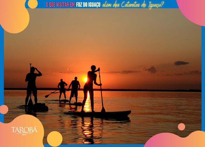 Pôr do Sol - Foz Sup Tour - O que visitar em Foz do Iguaçu