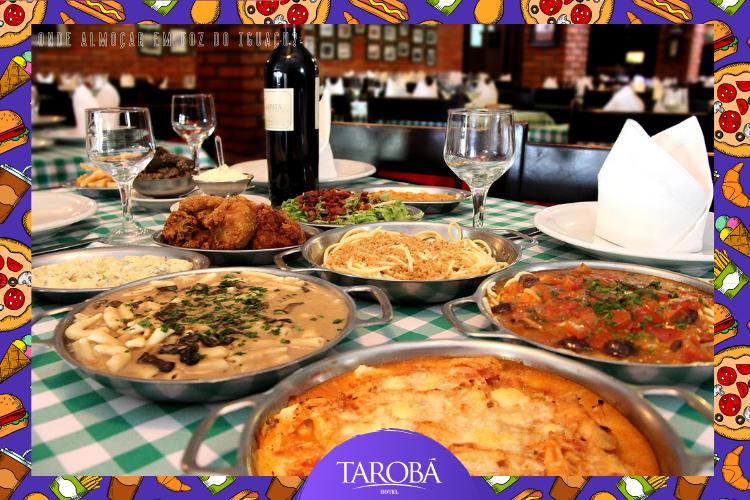 Buffet de pratos italianos |  4 Sorelle | Onde almoçar em Foz do Iguaçu