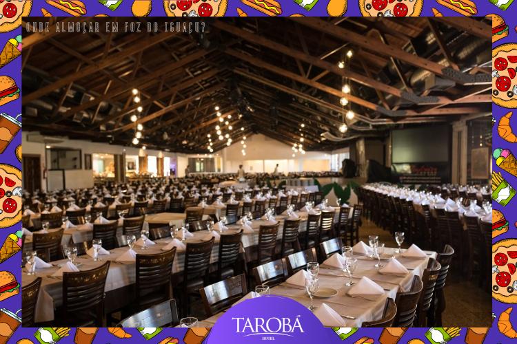 Rafain Churrascaria Show | Cadeiras no Restaurante | Onde almoçar em Foz do Iguaçu