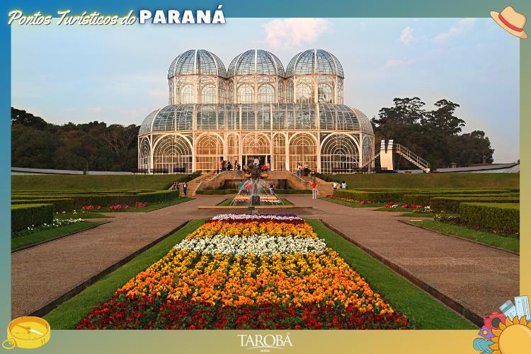Pontos Turísticos do Paraná   Jardim botânico em Curitiba