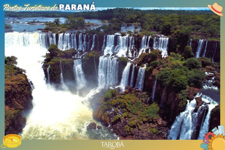 Pontos Turísticos do Paraná - Cataratas do Iguaçu