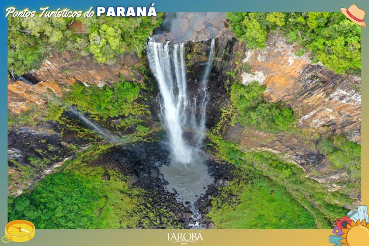 Pontos Turísticos do Paraná cachoeira em Ponta Grossa