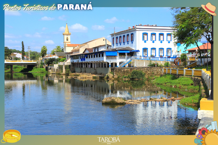 Pontos Turísticos do Paraná - Morretes - casarão
