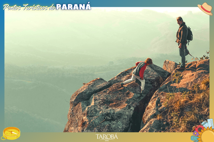Sapopema - Viajantes no alto da colina