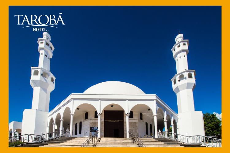 Mesquita Árabe. 8 passeios gratuitos em Foz do Iguaçu, para você aproveitar a sua viagem!