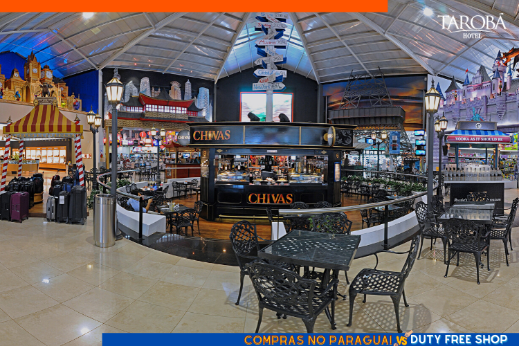 Compras no Paraguai vs Duty Free Shop - centro do Duty Free AR