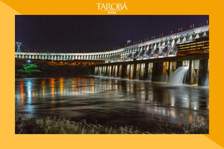 Itaipu Iluminada | Passeios em Foz do Iguaçu: para todos os gostos e idades