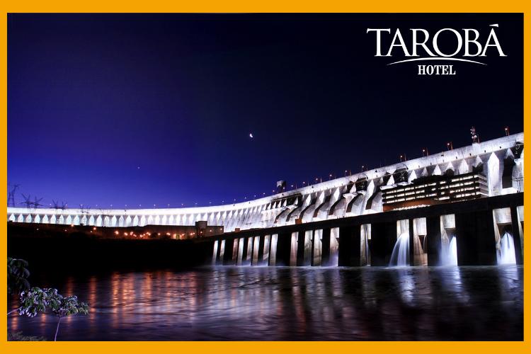 Usina hidrelétrica Itaipu. Você conhece a Usina Hidrelétrica Itaipu de Foz do Iguaçu?