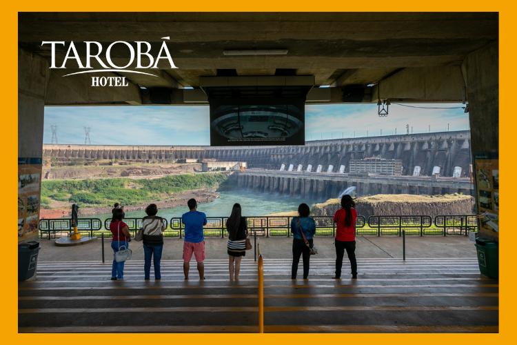 Visita panorâmica na Itaipu. Você conhece a Usina Hidrelétrica Itaipu de Foz do Iguaçu?