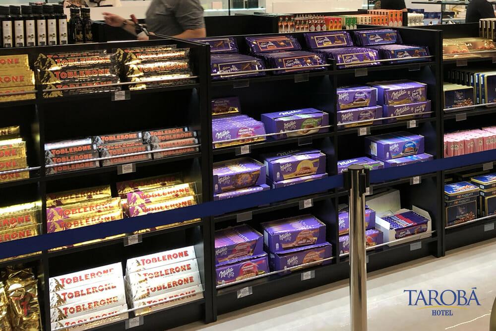 Chocolates no Liberty Duty Free, a melhor opção de compras em foz do iguaçu