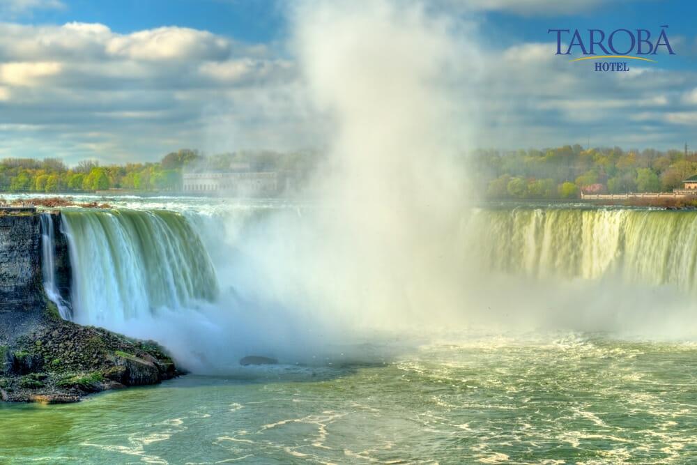 Niagara Falls, uma das maiores cataratas do mundo