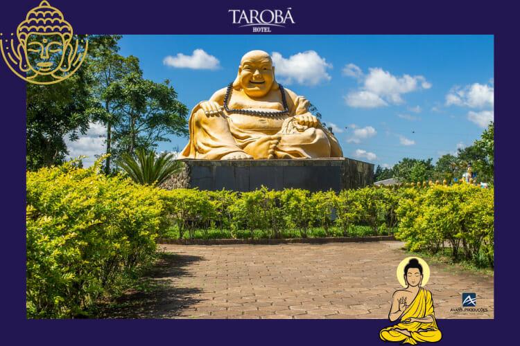 O famoso buda sorridente, da sorte e fama, o Buda Maitreya.